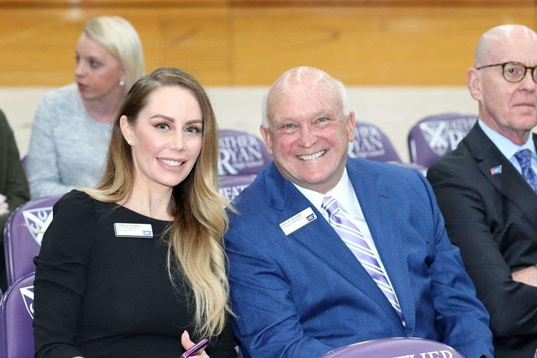 John Bearden with ACS TN exec director Lindsey Langley